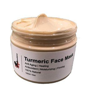 100% Natural Turmeric Face Mask for All Skin Types